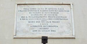 Torino piazzetta dei Minusieri
