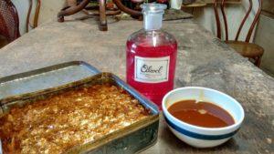 Ingredienti per la preparazione della vernice a base di gommalacca