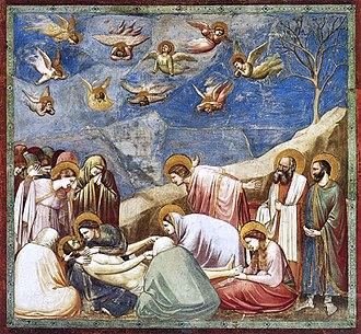 Colore Blu dai lapislazzuli negli affreschi di Giotto