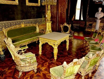 Parquet intarsiato a Palazzo Reale Torino