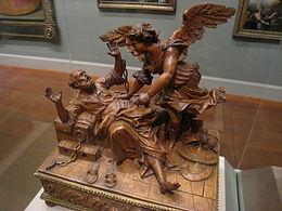 Statua in legno di Andrea Brustolon